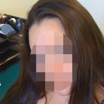 femme poilue a Grigny